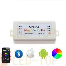 Bluetooth RGB Controller WS2801 WS2812B SK6812 LPD6803 APA102 5050 Strip Light