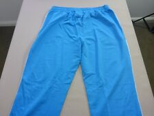 067 MENS NWT REEBOK CRICKET WORLD CUP 2015 SKY BLUE TRACK PANTS XXL $80 RRP.