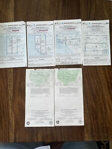 Lof Of 00 Jeppesen Low High Altitude Enroute Charts USA 1,2,3,4,5,6,7,8 Plus FAA