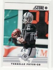TERRELLE PRYOR OAKLAND RAIDERS OHIO STATE AUTOGRAPHED CARD RARE HARD TO FIND