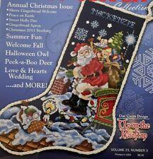 Summer 2011 Stoney Creek Cross Stitch Collection Magazine Christmas Issue 8775