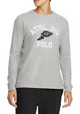 """New Polo Ralph Lauren """"ATHL.DIV.67"""" Men's XL Gray Long Sleeve T-Shirt"""