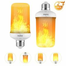 Led Light Bulbs,Realistic Flame Effect Light Bulbs,7W E26 4 Modes Fire Flickerin