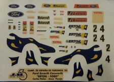 DECAL CALCA 1/43 FORD ESCORT COSWORTH PALAU / PAREJA CET 1993