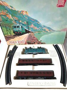 JOUEF HO réf. 551 train mécanique PARIS ROME en coffret