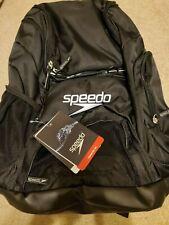 Speedo Teamster 35L Backpack Black/Black 1SZ OS Unisex Adult