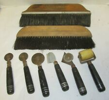 8 Piece Lot of Vintage/Antique Wall Paper Tool Hyde Riteset & Other Lqqk!