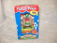 Fisher-Price Little People Christmas Eve 1999 Elf Kids' Christmas Keepsake w/Box
