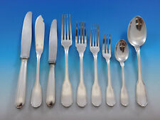 Germaine Touraine by Christofle France Silverplate Flatware Service Set 54 pcs