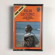 FELIX LECLERC - Y'A DES AMOURS / LA VIE J'INVITERAL L'ENFANCE Cassette 7177102