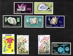 Kenya .. Splendid Stamp Collection .. 2363