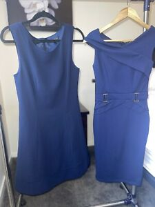 2 Navy Dresses Size 10 Forever New And Lipsy London