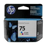 HP 75 Tri-Color Ink Cartridge CB337WN Genuine New