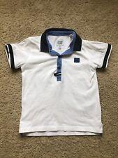 Armani Junior Boy T-Shirt Size 4A White Cotton Authentic