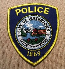 NY Watertown New York Police Patch