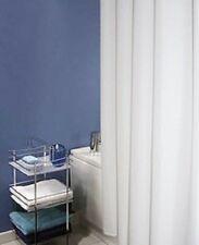 Cortina baño poliéster lisa beige. 180x200 cm.