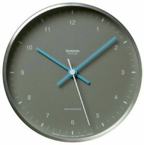 Lemnos MIZUIRO Wall Clock Japan Gray LC07-06 GY from Japan New