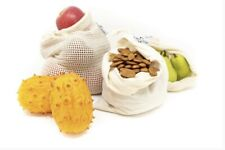 (12) 100% ORGANIC Cotton Produce Bags - From The Waste Less Shop