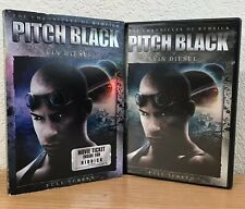 Pitch Black ~ Chronicles Of Riddick (Dvd, 2004) with Slipcover!