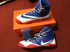 Nike Hypersweep Wrestling Shoes US 9 RWB RARE with Box