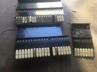 Vintage Conn Organ Coupler Rail/Tab Assembly! MAKE OFFER!