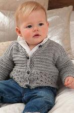 Knitting Pattern -Baby/Toddler Cardigan  (4 sizes) P0104