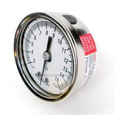 Ashcroft 1009 Duralife Pressure Gauge 25 1009SW 02B 15 , 15lb , SS, - Lot of 2