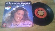 "7"" Pop Corinne Hermes - Si La Vie Est Cadeau (2 Song) SABAN POLYDOR Grand Prix83"