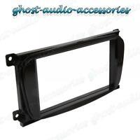 Ford Black Double DIN Car CD Stereo Radio Facia Fascia Surround Adaptor Plate