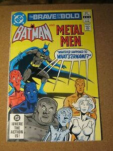 Brave and the Bold #187 Jun 1982 Batman and Metal Men - Direct             ZCO