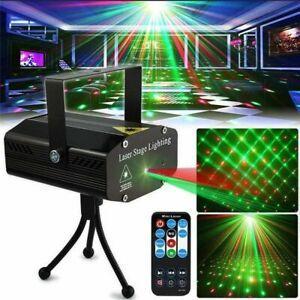 LED Laser Projektor Lampe Lichteffekt Außenbeleuchtung Garten disco Stage