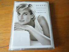 Diana Princess of Wales Tribute Double Cassette Queen Springsteen Houston Dion