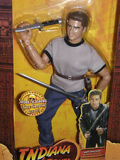 "Indiana Jones      Mutt Williams    sword&knife action    12""inch action figure"