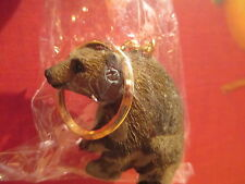 bear brown key chain great gift