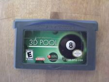 Archer Maclean's 3D Pool  (Nintendo Game Boy Advance, 2004)