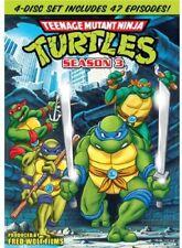 Teenage Mutant Ninja Turtles: Season 3 [New DVD] Boxed Set, Full Frame, Subtit
