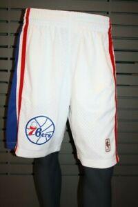 Mitchell And Ness NBA Swingman Shorts 2.0 - Philadelphia 76ers White