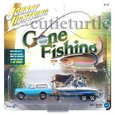 Johnny Lightning 1969 Chevrolet Blazer 1/64 Gone Fishing JLBT002 36C B Blue