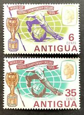 Antigua. Football World Cup Stamp Set. SG176/77.1966. MNH. (P37)