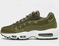 Nike Air Max 95 Women's ( UK Sizes 5 / 6.5 / 7 ) Oilve / White Latest NEW