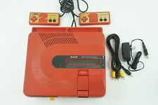 Sharp Twin Famicom Red Console NES From Japan