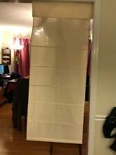 "Thermal Linen Look Roman Shades - 26"" x 60"""