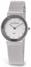 Skagen Women's Classic 358SSSD Silver Stainless-Steel Quartz Dress Watch
