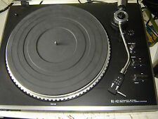 Japanese quality JVC  QL A2  turntable needs service and stylus for restoration