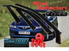 MAZDA 6 2002 - 2007  HATCHBACK  5.doors Wind deflectors 4.pc set HEKO 23135