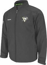 Pittsburgh Penguins Reebok Center Ice Softshell Full Zip Premium Jacket L