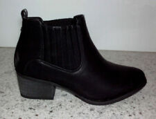 Leather Women's Ankle Boots 8 US Shoe