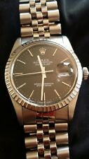 Vintage Men's Oyster Perpetual Datejust Rolex Watch Model No. 16030