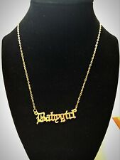 New ListingNew without Tags Gold colored Babygirl Necklace