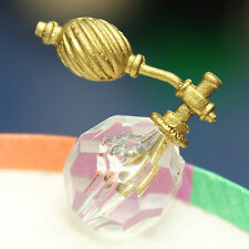 1/12 Plastic Dollhouse Miniature Bedroom Bathroom Transparent Perfume Bottle Toy